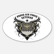 Proud Air Force Veteran Decal