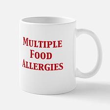 Cute Allergic to nuts Mug
