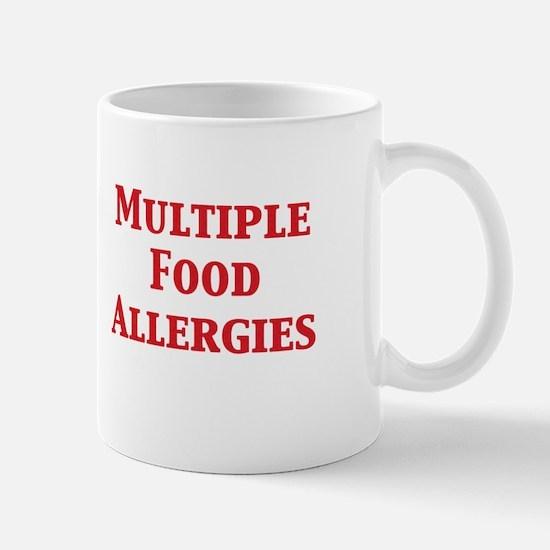 Cute Kid allergic to gluten Mug