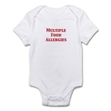 Cool Allergic to dairy Infant Bodysuit