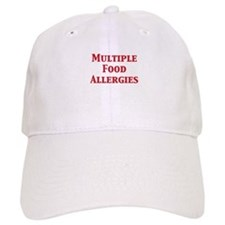Cool Allergic to dairy Baseball Cap