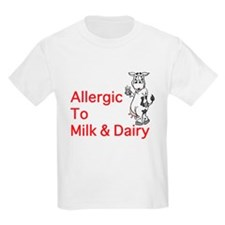 Milk Allergy T-Shirt