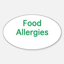 Food Allergies Decal
