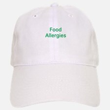 Food Allergies Baseball Baseball Cap