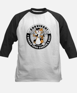 Lung Cancer Cat Survivor Tee