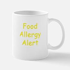 Food Allergy Alert Mug
