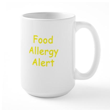 Food Allergy Alert Large Mug