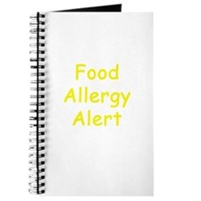 Food Allergy Alert Journal