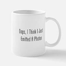 Oops, I Emitted A Photon Mug