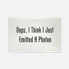 Oops, I Emitted A Photon Rectangle Magnet