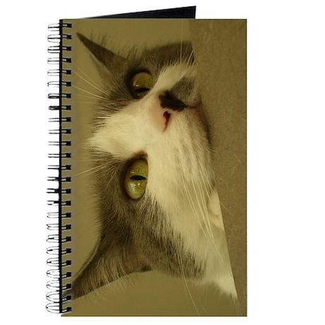 Kitty Cat Face Journal