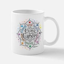 Lung Cancer Lotus Mug