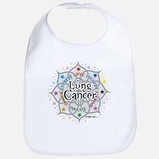 Lung Cancer Lotus Bib