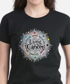 Lung Cancer Lotus Tee
