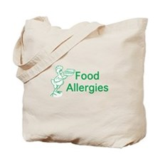 Food Allergies Tote Bag