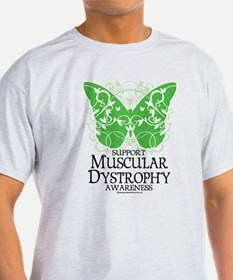 Muscular Dystrophy Butterfly T-Shirt
