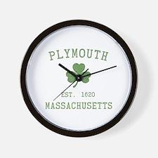Plymouth MA Wall Clock