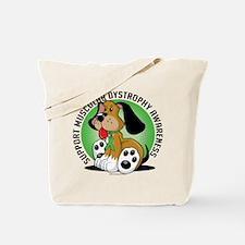 Muscular Dystrophy Dog Tote Bag