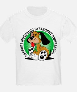 Muscular Dystrophy Dog T-Shirt