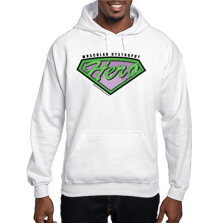 Muscular Dystrophy Hero Hooded Sweatshirt