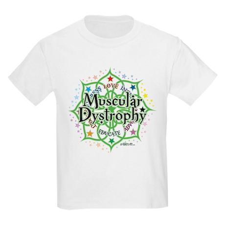 Muscular Dystrophy Lotus Kids Light T-Shirt