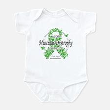 Muscular Dystrophy Ribbon Of Infant Bodysuit