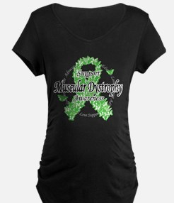 Muscular Dystrophy Ribbon Of T-Shirt