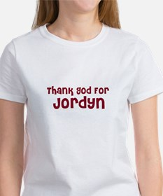 Thank God For Jordyn Women's T-Shirt