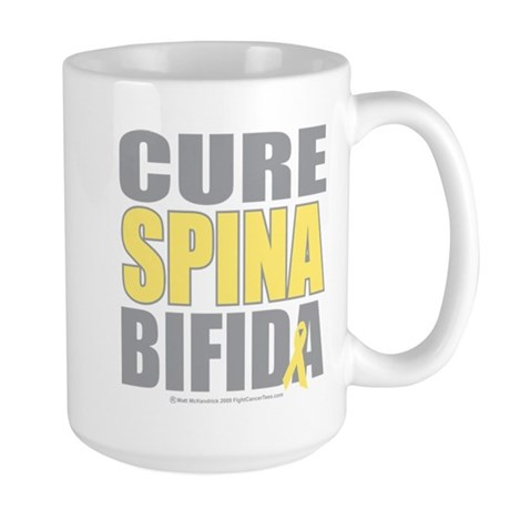Cure Spina Bifida Large Mug