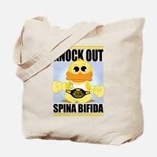 Knock Out Spina Bifida Tote Bag