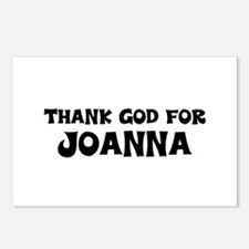 Thank God For Joanna Postcards (Package of 8)