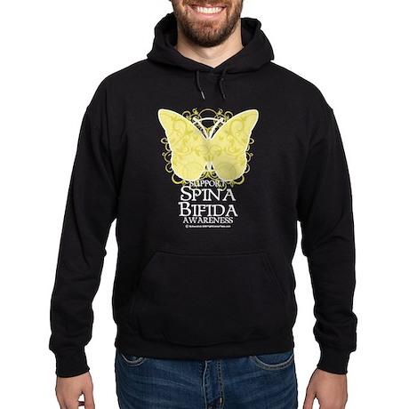 Spina Bifida Butterfly Hoodie (dark)
