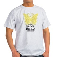 Spina Bifida Butterfly T-Shirt