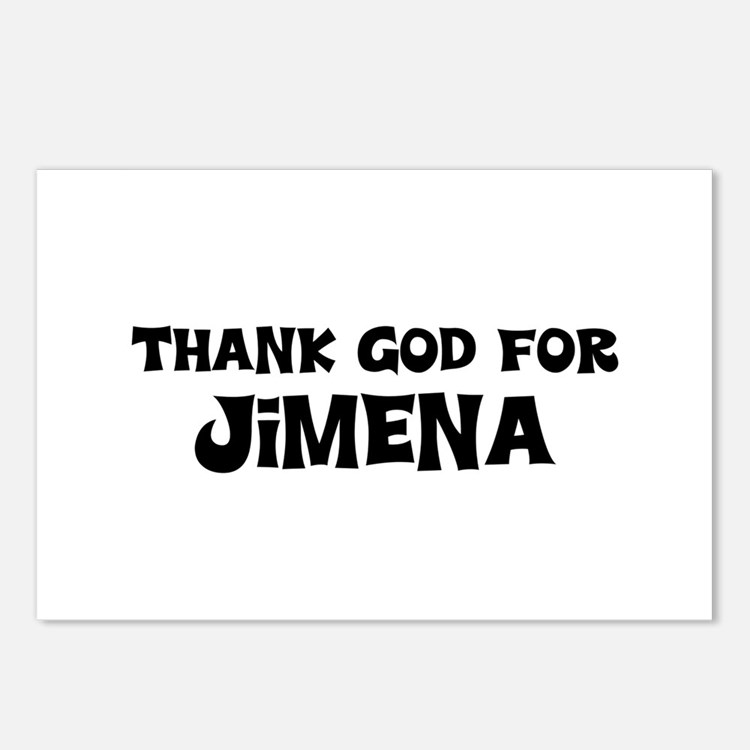 Thank God For Jimena Postcards (Package of 8)