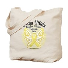 Spina Bifida Butterfly 3 Tote Bag