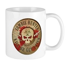 Zombie Hunter Distressed Mug
