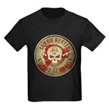 Zombie hunter Kids T-shirts (Dark)