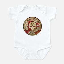 Zombie Hunter Distressed Infant Bodysuit