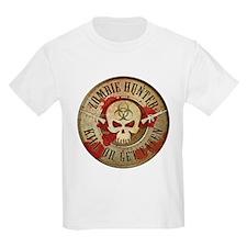 Zombie Hunter Distressed T-Shirt