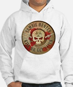 Zombie Hunter Distressed Hoodie