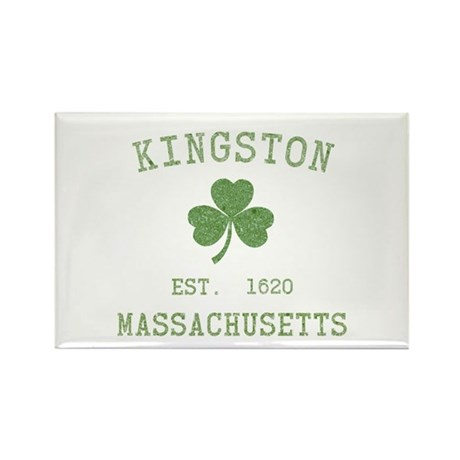 Kingston MA Rectangle Magnet