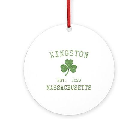 Kingston MA Ornament (Round)