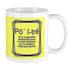 Yellow Definition Poetry! Mug