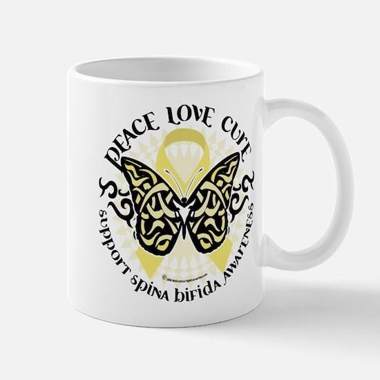 Spina Bifida Butterfly Tribal Mug