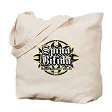 Spina Bifida Tribal Tote Bag