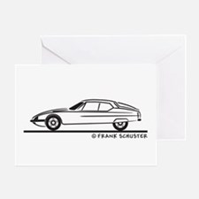 Citroen SM Greeting Card