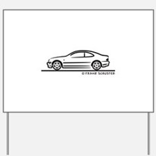 Mercedes CLK Yard Sign