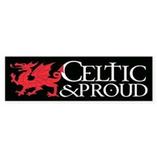 C&P Welsh Car Sticker