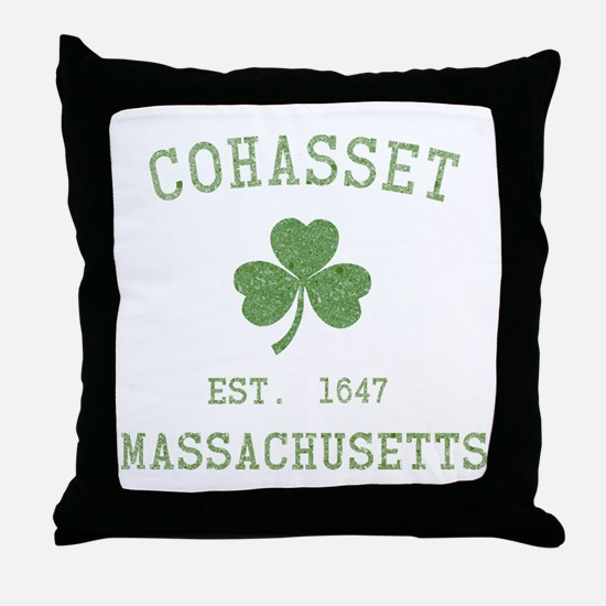 Cohasset MA Throw Pillow