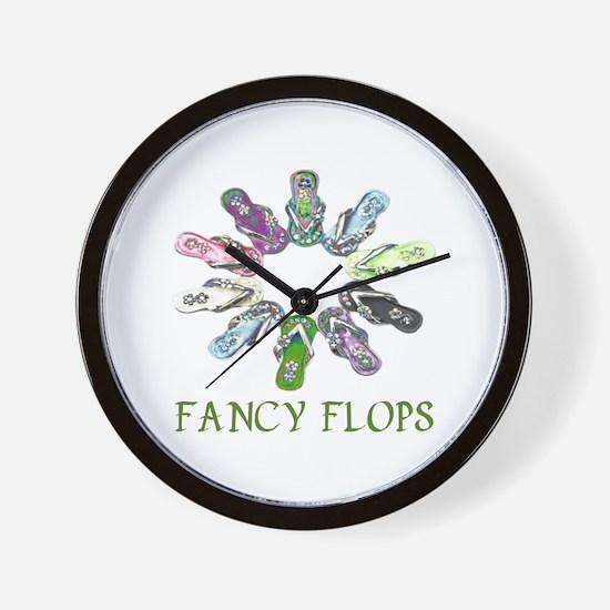 Fancy Flops Wall Clock